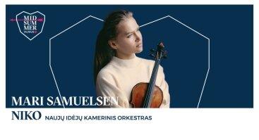 MIDSUMMER Vilnius: Mari Samuelsen ir NIKO