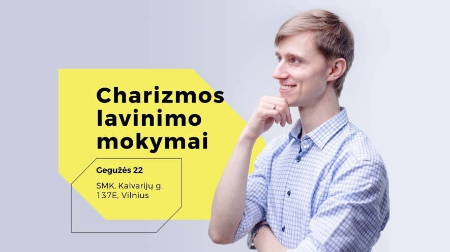 Charizmos lavinimo mokymai