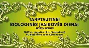 Tarptautinės Biologinės įvairovės dienos šventė