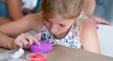Vasaros kūrybiniai užsiėmimai vaikams