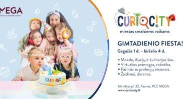 """""""CurioCity"""" gimtadienio fiesta!"""