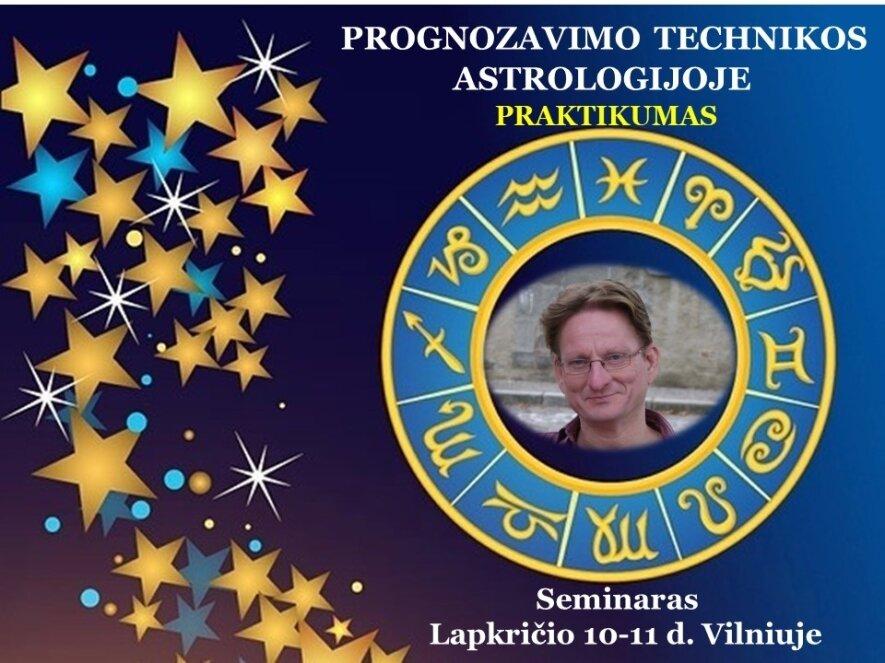 PROGNOZAVIMO TECHNIKOS ASTROLOGIJOJE. PRAKTIKUMAS su Astrologijos Meistru Oskaru Hofmanu