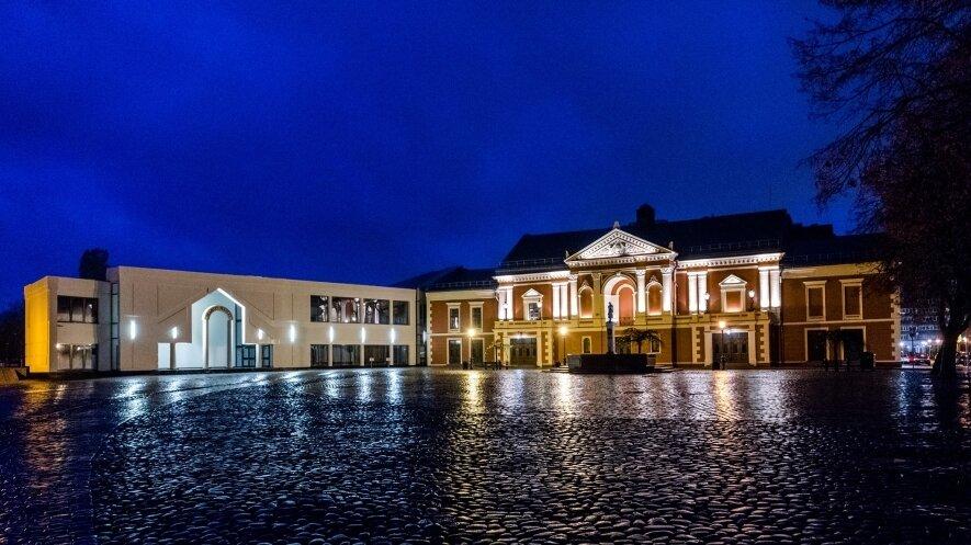 GYVAS TEATRO MUZIEJUS   Muziejų naktis 2018