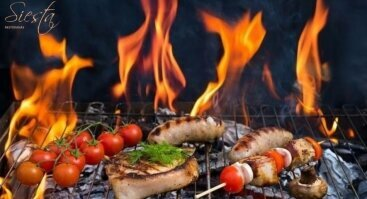 "BBQ vakaras restorane ""Siesta"""