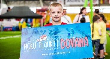 """Dienos stovykla """"Moku plaukti"""" Vilniuje"""