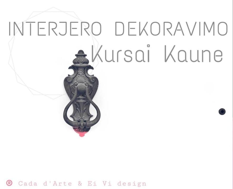 INTERJERO DEKORAVIMO KURSAI