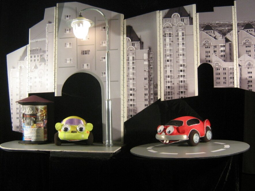 """Spektaklis vaikams """"Mažojo automobiliuko nuotykiai"""""""