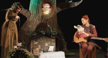 """Virtualus lėlių teatro spektaklis """"Pasakų namai"""""""