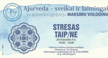 """Seminaras """"STRESAS. TAIP / NE"""""""