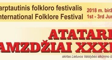 """Festivalis """"Atataria lamzdžiai-2018"""". Gatvės vakaronė"""