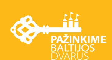 Kelionių po Baltijos dvarus pradžia. Simbolinio rakto perdavimas pirmajam keliautojui