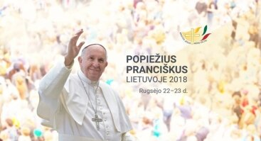 Popiežius Pranciškus Vilniuje