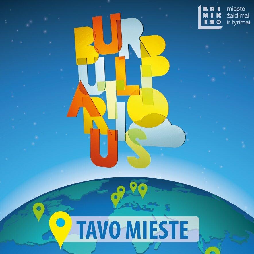 Burbuliatorius Vilniuje