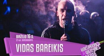 Nemokamas  Vido Bareikio koncertas