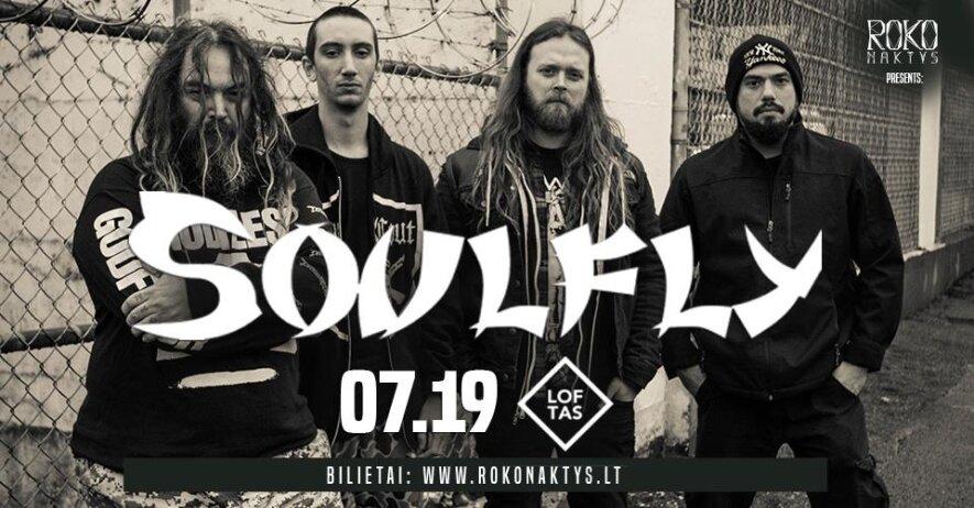 Roko naktys presents: Soulfly (BR)