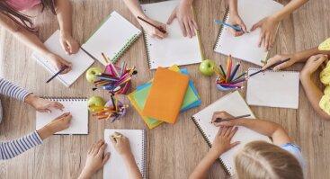 Nemokamas edukacinis užsiėmimas 5-8 m. vaikams