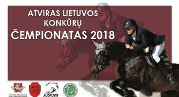 Atviras Lietuvos Konkūrų Čempionatas 2018