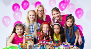 Mergaičių robotikos stovykla