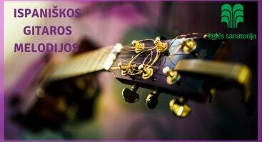 Ispaniškos gitaros melodijos