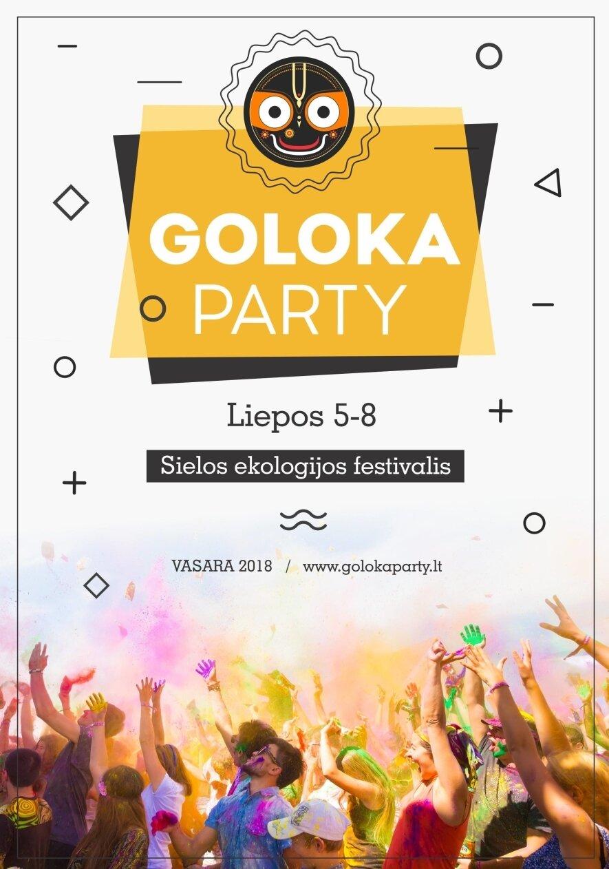 Goloka Party Lila 2018 Blaivus festivalis