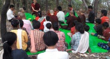 Susitikimas su budistų vienuoliu, ThaBarWa centro įkūrėju ir vadovu Sayadaw Ashin Ottamasara