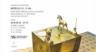 """Romualdo Inčirausko paroda """"Skulptūra tarytum juvelyrika"""", skirta autoriaus kūrybos 40-mečiui"""