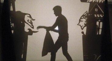 """Šešėlių teatro spektaklis """"Jūratė ir Kąstytis"""""""