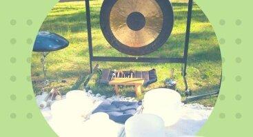 Meditacija su gongo garsais Palangoje