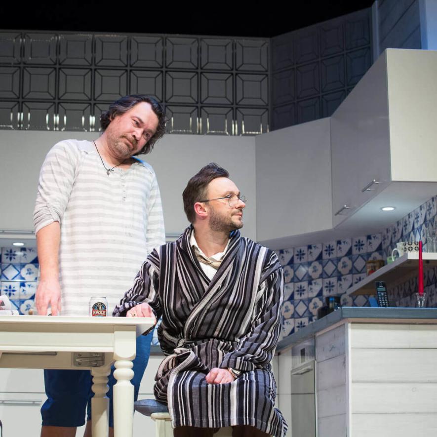 "Domino teatro komedija ""Vyras po padu"""