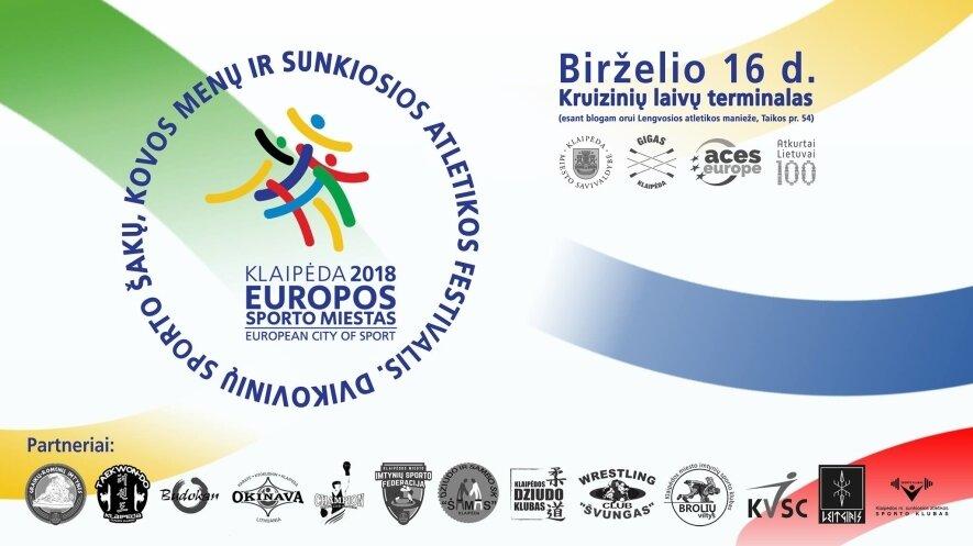 Sporto festivalis Klaipėdoje 2018