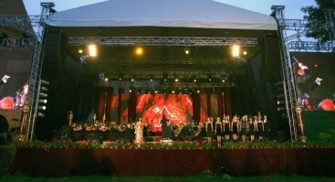Lietuviškų miuziklų vakaras Raudondvario pilyje