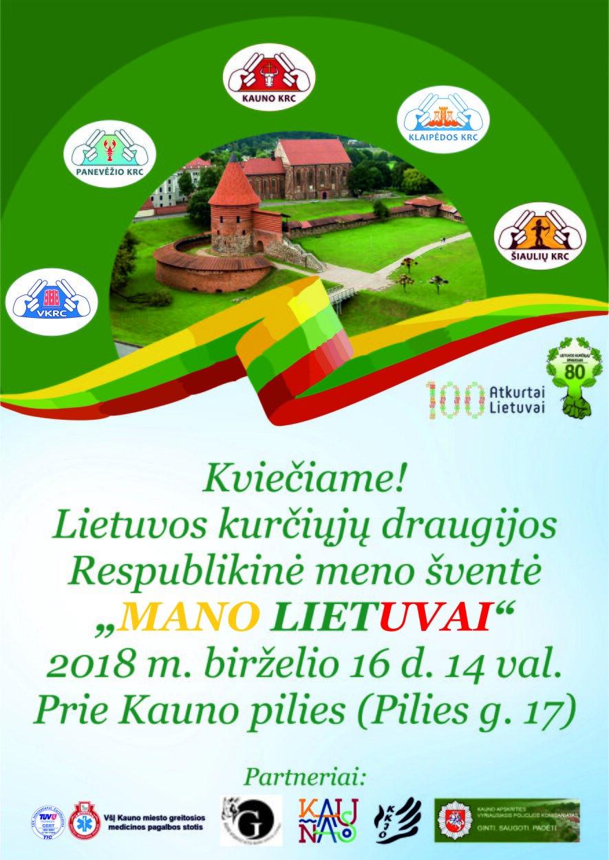 """Lietuvos kurčiųjų draugijos Respublikinė meno šventė """"Mano Lietuvai"""""""