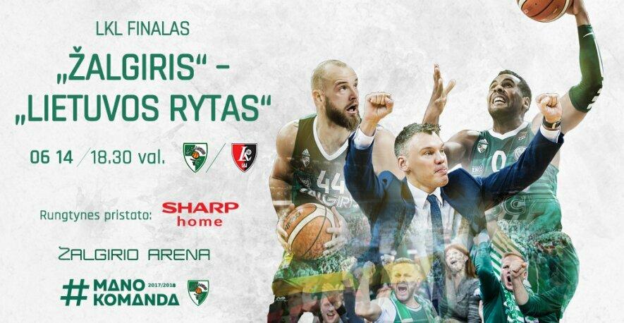 FINALAS III: Žalgiris - Lietuvos rytas