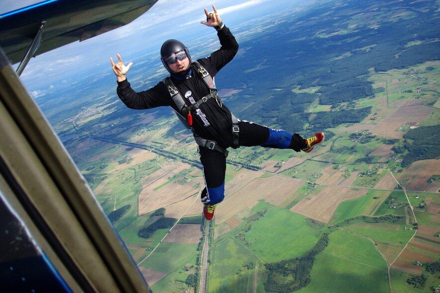 Šuolis sparno tipo parašiutu - Skydive Vilnius