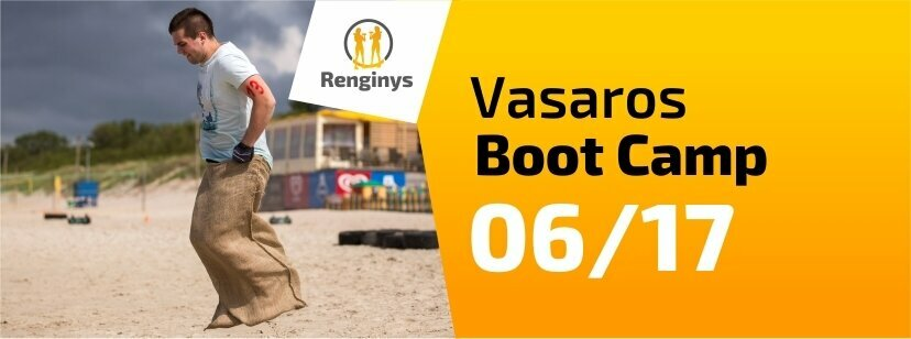 Vasaros Boot Camp