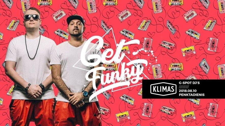 Get funky with G-Spot DJs