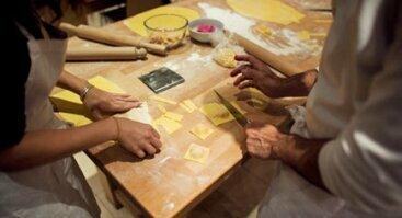 Makaronų gamybos dirbtuvės ir degustacija