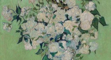 Tapome V. Van Gogh Rožių puokštę