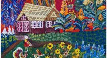 """Adelės Velykienės tapybos paroda """"Kad viskas žydėtų"""""""