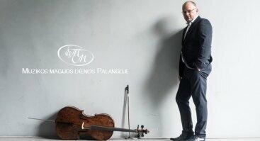 Mindaugas Bačkus Violončelės balsas - raktas į emocines gilumas. Koncertas | Palanga