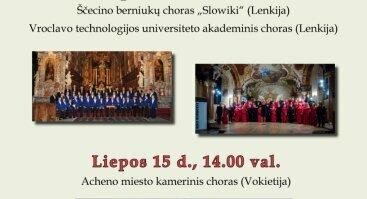 """IX-asis tarptautinis sakralinės muzikos  chorų festivalis-konkursas """"Laudate Dominum, 2018"""""""