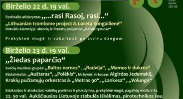 """Tradicijas ir dabartį jungiantis festivalis Kėdainiuose """"Pap/Art/Is"""""""