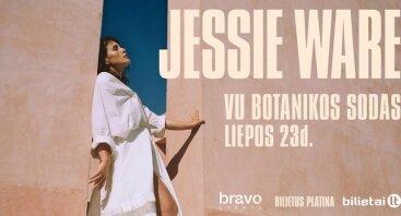 JESSIE WARE koncertas Vilniaus Botanikos sode