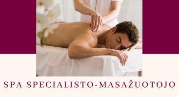 SPA specialisto – masažuotojo vakariniai mokymai Šiauliuose