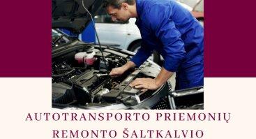 Autotransporto priemonių remonto šaltkalvio vakariniai mokymai Šiauliuose