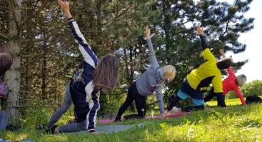 """Nemokamos """"Judėk sveikai"""" JOGOS treniruotės"""