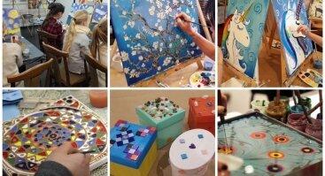 Kūrybiškos edukacijos – vaikams, suaugusiems, draugams