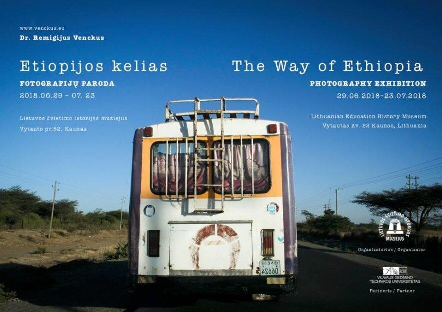 """Fotografijų paroda """"Etiopijos kelias"""""""