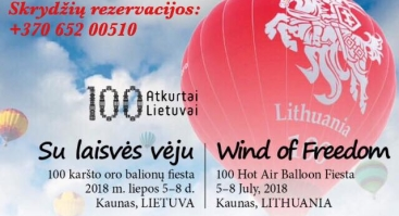 "Oro balionų fiesta ""Su laisvės vėju"""