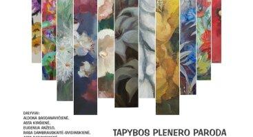 "Tapybos plenero paroda ""AUGALAS"" Vilniaus Botanikos sode Kairėnuose"